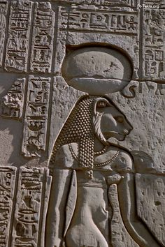 """Egyptian goddess Sekhmet, warrior goddess and goddess of healing for Upper Egypt when it was divided. Her name means """"the powerful (one)"""" or """"the mighty (one)."""" The lioness is known as the fiercest hunter to the Egyptians; her titles are """"(The One) Before Whom Evil Trembles,"""" """"Mistress of Dread,"""" """"Lady of Slaughter,"""" and """"She Who Mauls."""" In one myth, the blood-lust of Sekhmet is only qwelled when she becomes drunk on Ra's beer dyed red with ochre or hematite, just before she destroys all of…"""