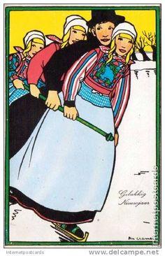 Rie Cramer - postcard.