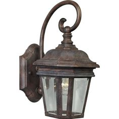Progress Lighting P5670-33 Cast Wall Lantern with Clear Beveled Glass, Cobblestone by Progress Lighting. $116.28. From the Manufacturer                Impressive and stately, the Crawford Collection is finely crafted from die-cast aluminum for long term performance and features a rich hand painted finish. Cast wall lantern with clear beveled glass. Uses (1) 100-Watt medium base bulb 6-1/2-Inch Width x 12-1/2-Inch Height                                    Product Description  ...