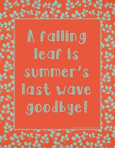 Free Fall Printable #fall #autumn #home #decor #season #goodbyesummer #mrandmrswinslett