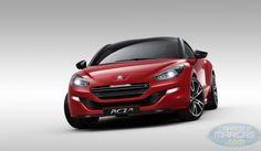 Carros e marcas | Novo Peugeot CRZ R o carro mais potente da marca francesa