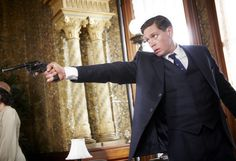 Detective Inspector Jack Robinson (Nathan Page) in 'Murder in Montparnasse'…