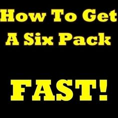How To Get A Six Pack FAST! The Must-Know Secrets Of How To Get Six Pack Abs And How To Get Ripped In No Time! $2.99 six-pack-abs elzazkh workout-tips abs six-pack-abs abs abs flat-stomach