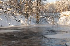 Talvine Keila juga www.facebook.com/groups/loodusblogi/ juga jõgi loodus loodusblogi talv lumi jää