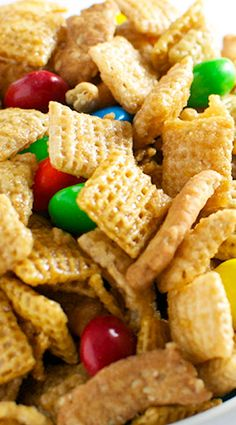 Caramel Chex Mix - ask gma Judi for her recipe!                                                                                                                                                                                 More