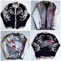 KULA Eternal Okayama Kojima Japan Japanese Nobori Koi Fish Matsu Pine Zen Simple Yakuza Dragon Tattoo Design Sukajan Jacket - Japan Lover Me Store