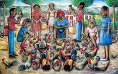 """The Chicken Vendor"" by Wilson Bigaud"
