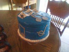 Birthday Cake  music themed