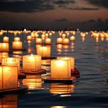 Lantern Festival Waikiki Memorial Day 2014 Greeting Card for Sale by Jackie Dorr