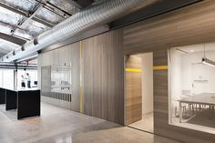 Image 8 of 11 from gallery of Unit for Goodman / MAKE Creative. Photograph by Luc Remond Australian Interior Design, Interior Design Awards, Corporate Interiors, Office Interiors, Real Estate Office, Nook And Cranny, Architecture Office, Coworking Space, Commercial Design