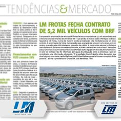 A LM Frotas, do Grupo LM, foi destaque da coluna Tendências & Mercado, do Jornal A Tarde deste domingo, 02/08. [http://blog.lmtransportes.com.br/lm-frotas-na-midia.html]