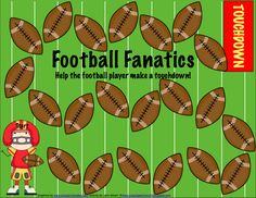 Football Freebie! - Pinned by @PediaStaff. - Please Visit http://ht.ly/63sNt for all our pediatric therapy pins