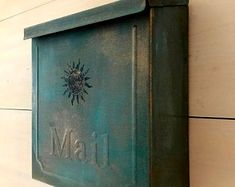 Hand painted treasures for your home. by SaratogaArtnCraft on Etsy Wall Mount Mailbox, Mounted Mailbox, House Painting, Montage, Hand Painted, Etsy, Handmade Gifts, Home Decor, Tiny Homes