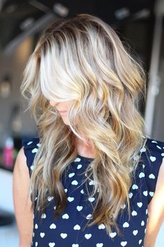 Work by danielle k white dkwstyling.com   Blonde hair extensions