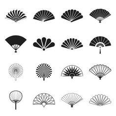 Motif Art Deco, Art Deco Design, Design Design, Fan Tattoo, Art Deco Tattoo, Fan Drawing, Jugendstil Design, Hand Held Fan, Hand Fans