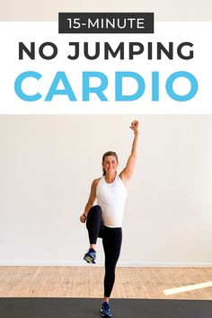 15-Minute No Jumping Cardio Workout