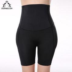a633f7a5a33f6 Topmelon Shapwear High Waist Trainer Leg Body Shaper Butt Lifter Underwear  Women Padded Panties Hip Booty