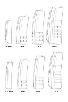 As I mentioned below, the GORUCK GR Echo and Radio Ruck are getting a update.    Several readers asked me about the differences in sizes, so I put together the profiles of old GORUCK rucks (top row) and the new ones (bottom row).    The original GR Echo had a capacity of 10.6 liters, while the new one has a 16 liters volume. The original Radio Ruck had a 17.3 liters volume, while the new one has 24 liters.    I hope this helps.