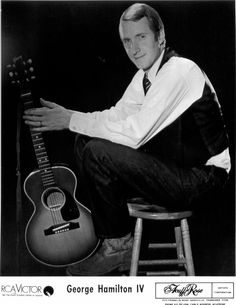 "George Hamilton IV - I saw him at the North Carolina State Fair. Best known for his country hit, ""Abilene. Country Hits, Country Music, George Hamilton Iv, Listening To Music, Rockabilly, North Carolina, Jazz, Folk, Blues"