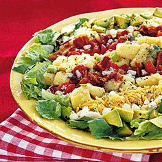 Potato Cobb Salad | MyRecipes.com an idea for Memorial day