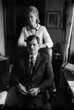 Ted and Joan Kennedy 1965