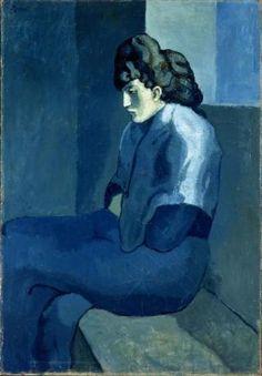 « La Mélancolie », 1902, Pablo Picasso.
