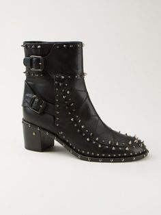 Laurence Dacade studded 'Badely booties'