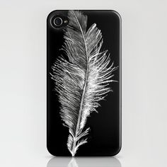 Feather iphone cover