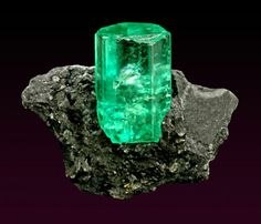 Beryl var. Emerald, Chivor Mine, Columbia