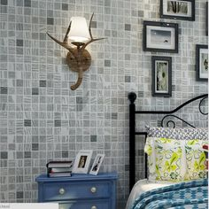 Beibehang 3d Wallpaper Mural Modern Minimalist 3D Stereo Mosaic Flocking  Wallpaper Living Room Bedroom TV Background