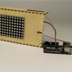 Arduino Scuola - How to show text in a led matrix with your browser