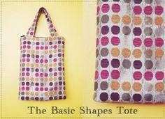 tutorial: basic rectangular tote   Bored & Crafty