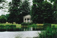 A Quiet Stroll Through Althorp…, the Temple that pays tribute to Diana.  It was brought from London and was used as a summer house on the lake at Althorp at one time.