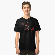 Black cat warrior Classic T-Shirt #classicthirt #tee #tshirt #clothing #animal #cat #warrior #knight #queen #princess #rey #darth #sith #jedi #R2D2 #bb8 #milleniumfalcon #abstract #VanGogh