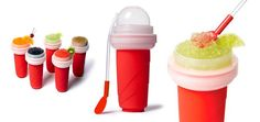 Red Aussie Ice-Branded Slushy Maker only $10! Make your fav slushie in just 2 mins! #cool #awesome #slushie