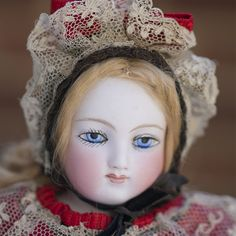"""15"""" (38 cm) Very lovely French Fashion doll by Barrois - fully original!"""