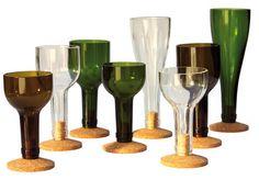 Couper un bouteille de vin - Comment couper une bouteille en verre ...