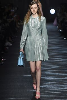 Catwalk photos and all the looks from Blumarine Autumn/Winter 2016-17 Ready-To-Wear Milan Fashion Week
