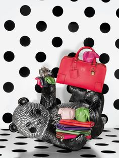 Loewe's windows for 2013 Holiday Season are styled in the spirit of the 40s glamorous aesthetic.