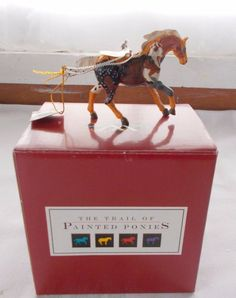 NOS The Trail of Painted Ponies Brown Horse Ornament Year Of The Horse