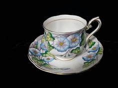 Royal Albert  Morning Glory Number 9 Flower of by Cupsofthepast