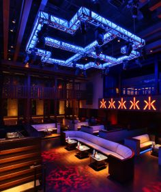 Hakkasan Las Vegas Nightclub The Pavilion Lighting Ideas   Top, Table  Spots, Wall Features