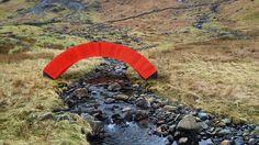 PaperBridge - visualisation by Steve Messam - Lake District England.