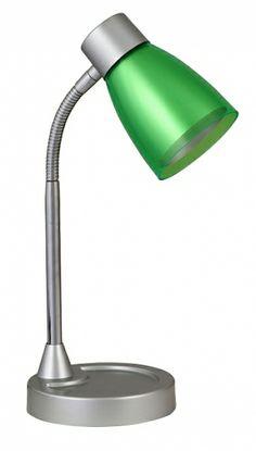 lampa de birou BRUNO 4268 gri-verde cu gat flexibil marca RabaLux Decor, Table, Lamp, Lighting, Desk Lamp, Home Decor, Desk