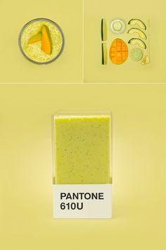 Mhhh... lecker! #Pantone #Smoothies: Leckere Drinks aus dem Pantone-Fächer