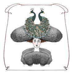 Paola Bernardi illustration illustrazione 12x12_1900 Nurant magazine Milan Fashion Library 2