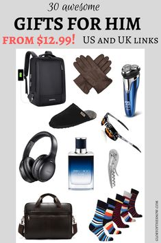 The ultimate guide to awesome Christmas gifts for him. Get the perfect and affordable gift for your boyfriend, husband, brother or dad! | Christmas gift ideas | Christmas gifts | gift ideas for him | gift ideas for men | gifts for him | gifts for men | gift guide for him | Christmas gift for boyfriend | Christmas gift for dad | Christmas gift for brother | Christmas gift for husband | Christmas gift guide | Holiday gift guide | Holiday gift ideas for him