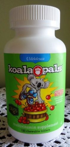 Melaleuca Koala Pals Chewable Multivitamins for Children by Melaleuca. $25.00. No artificial colors, flavors, or sweeteners and the only kids' chewable multivitamin with Oligofructose Complex.