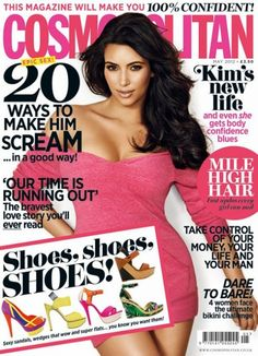 Kim Kardashian For 'Cosmopolitan' UK Magazine