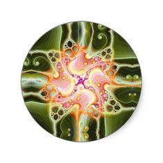 A Splotch of Fairy Magic V 3  Stickers from Bill M. Tracer Studio: http://www.zazzle.com/a_splotch_of_fairy_magic_v_3_stickers-217259806963712594 #art #abstract #postmodern #contemporary #stickers